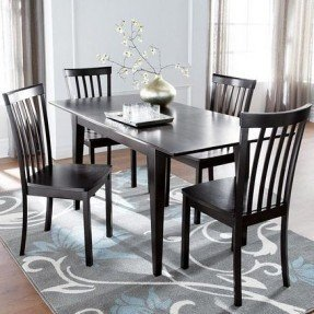 Dining Table With Butterfly Leaf 5