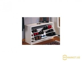 Enclosed shoe rack