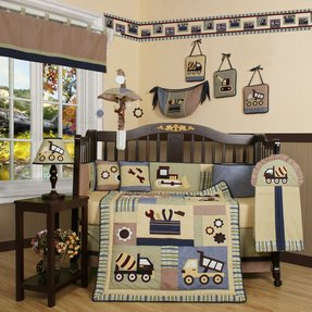 Fire Truck Nursery Bedding