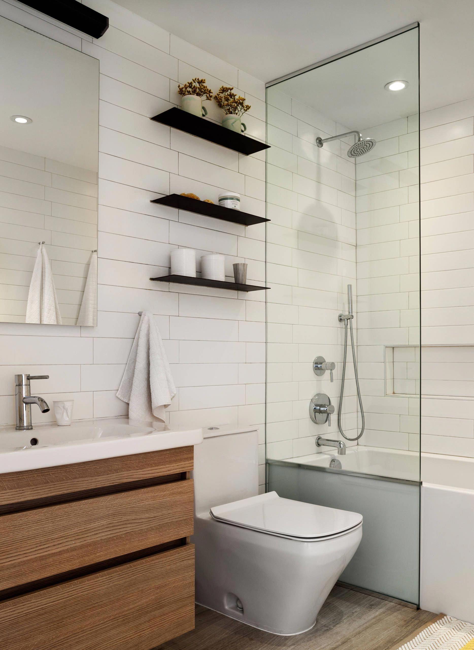 Floating Glass Shelves For Bathroom   Ideas On Foter