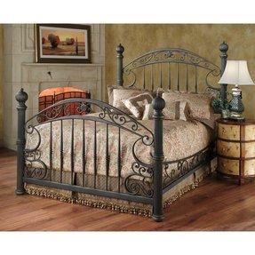 Antique Wooden Bed Frame
