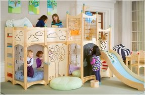 Indoor Wooden Playhouse - Foter
