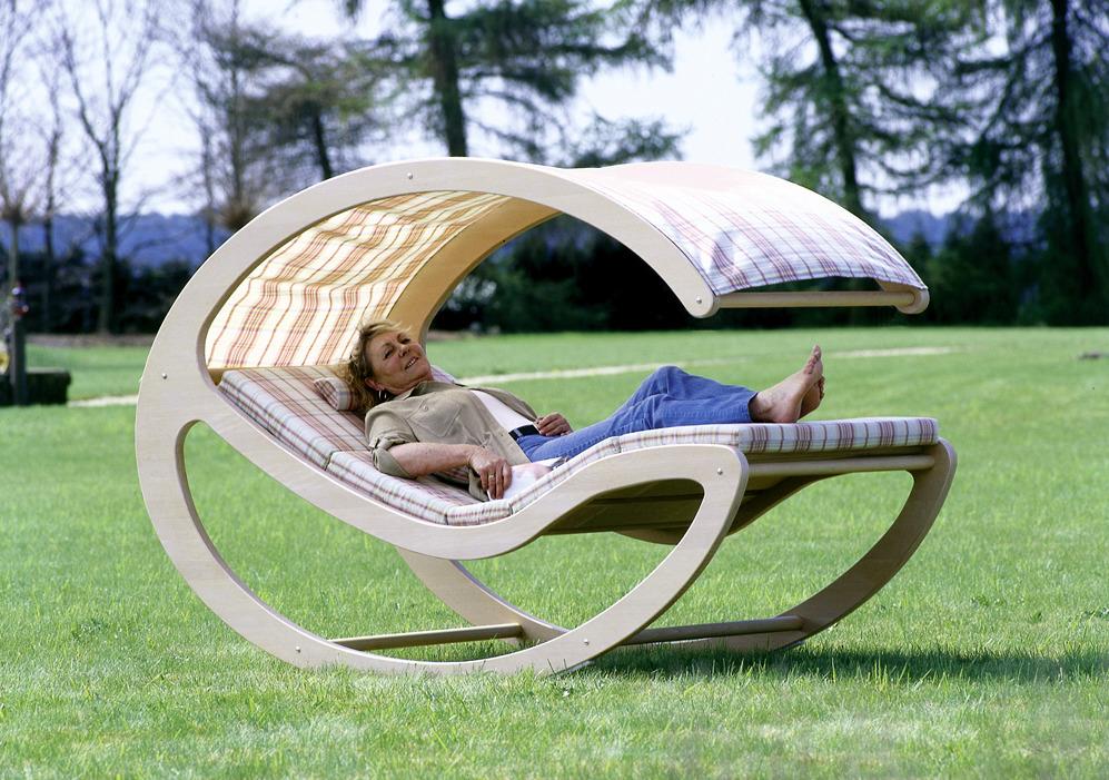 Indoor Wood Rocking Chair