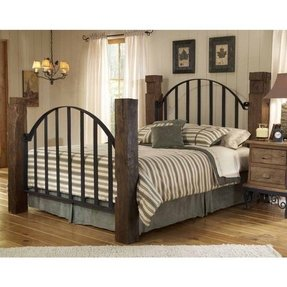 Iron king headboard only
