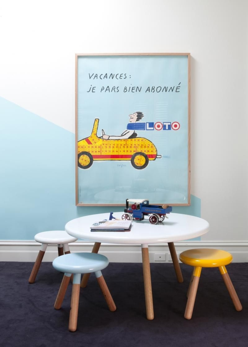 Kids Round Play Table