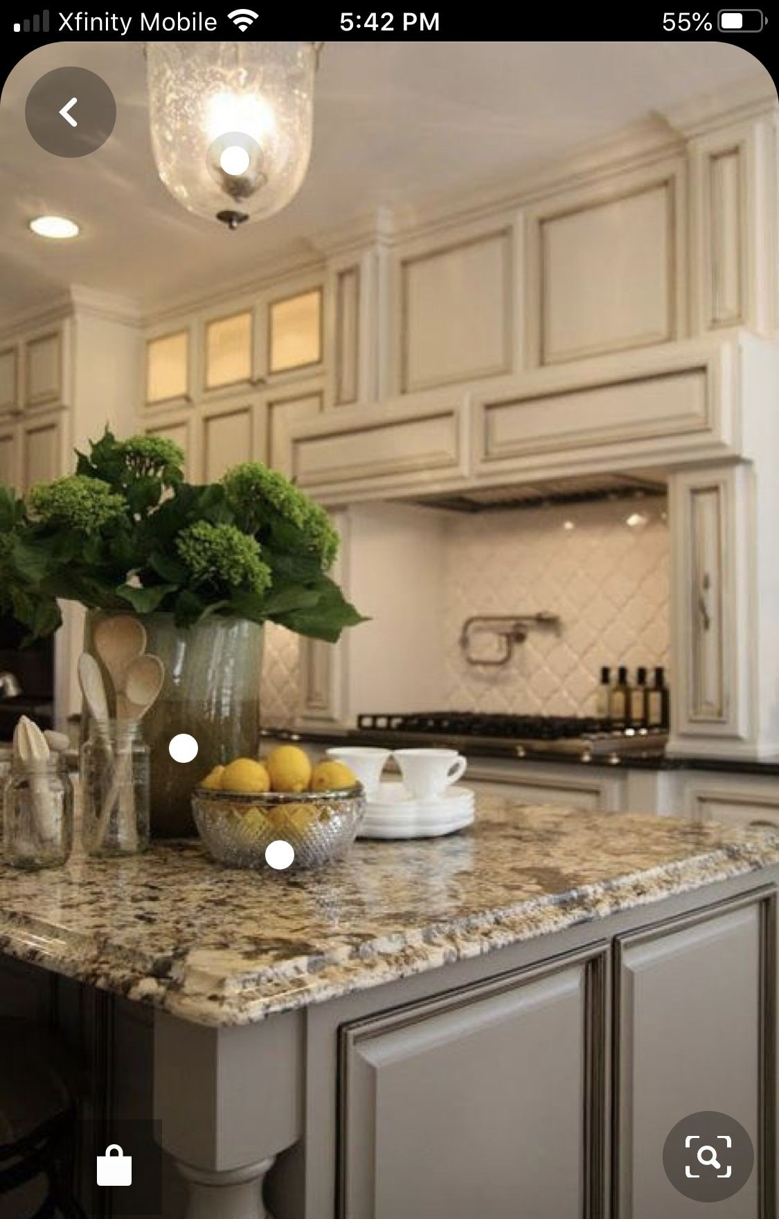 Kitchen Island With Granite Countertop 1
