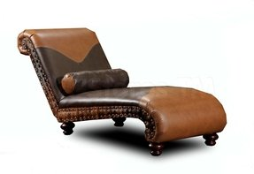 Leather Double Chaise Lounge Foter
