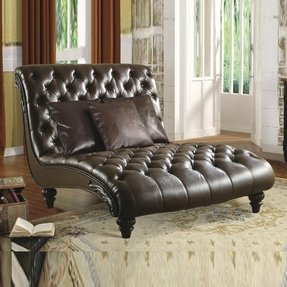 Leather Double Chaise Lounge Ideas On