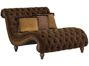 Leather double chaise lounge 6