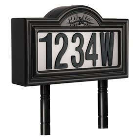Light up address signs 11