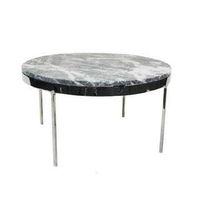 Marble top round coffee table 6
