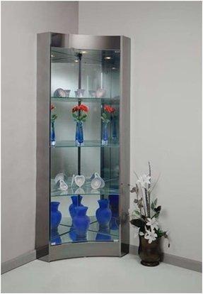 Modern Corner Curio Cabinet Foter