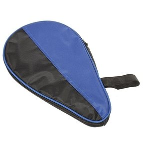 New Chance Waterproof Table Tennis Racket Nylon Case Bag for Ping Pong Paddle Bat Black with Blue