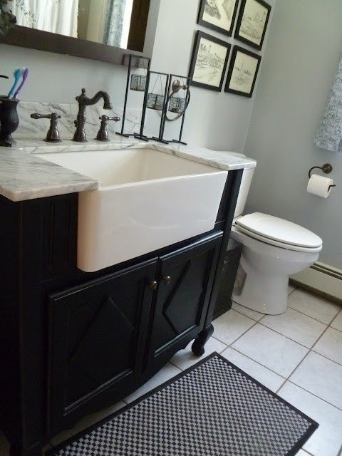Porcelain Laundry Sink
