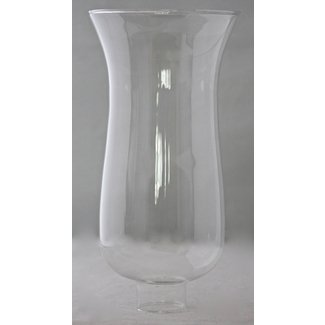 "Replacement Hurricane Glass, 1 1/2"" Base"
