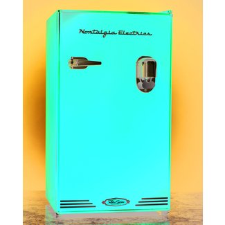 Retro compact fridge 3