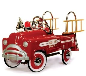 Ride on toy fire truck 2