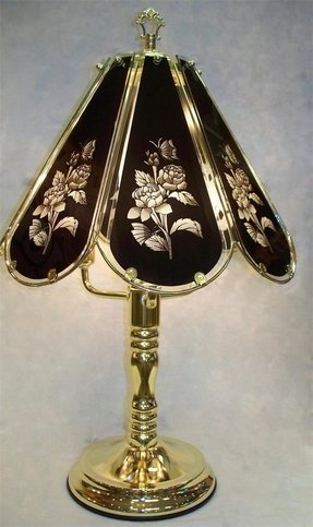 Tiffany Look Touch Lamp Foter