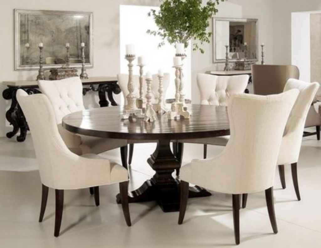 Delightful Round Dining Table For 8 People 1