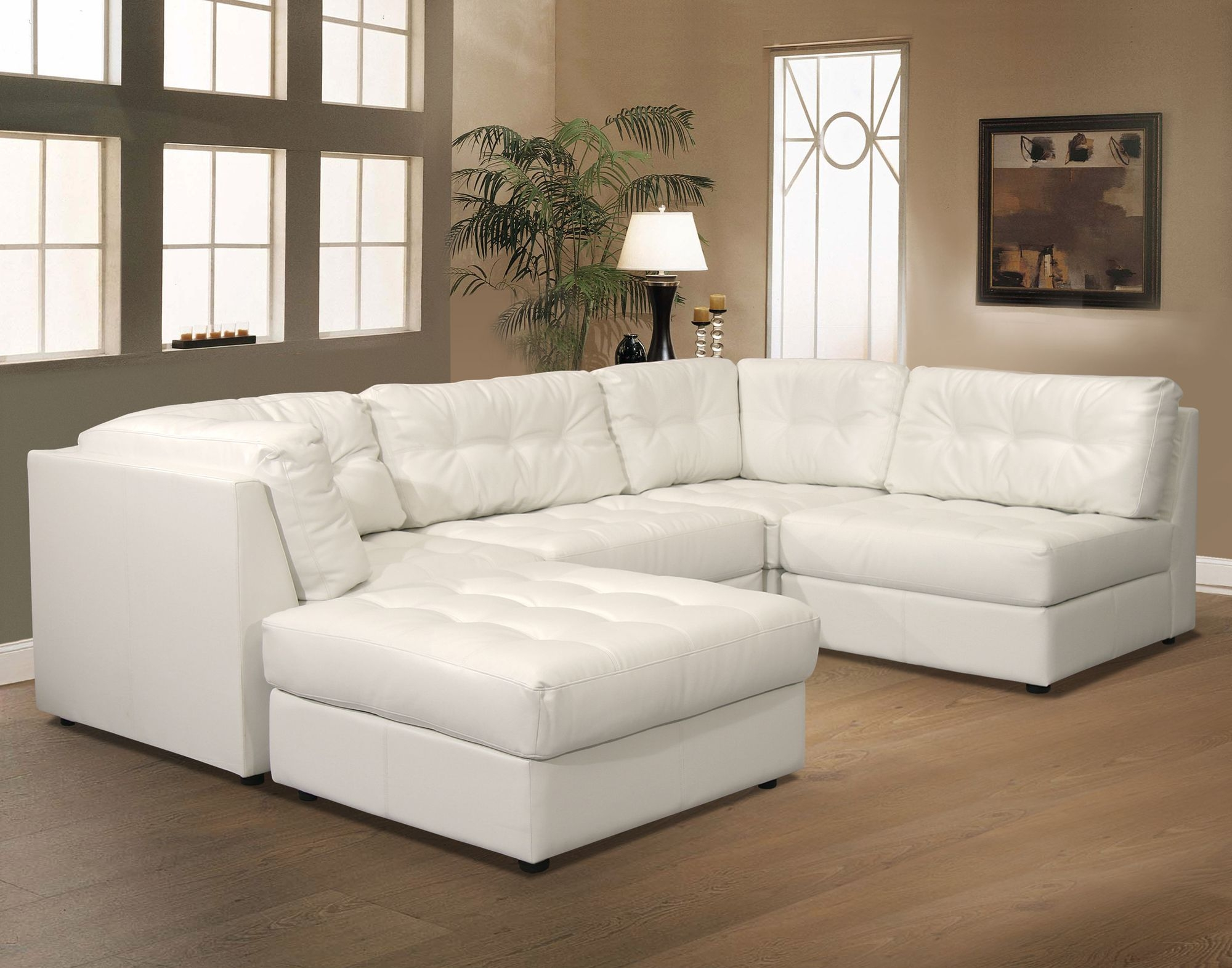 White leather couch Throw Small White Leather Sectional 15 Foter Small White Leather Sectional Ideas On Foter