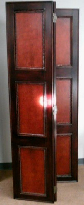 Solid wood room divider 4