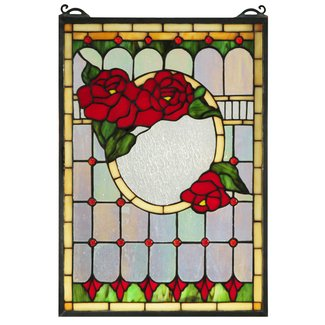 Stained glass window panels cheap