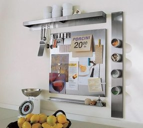 Stainless steel spice rack wall mount 4
