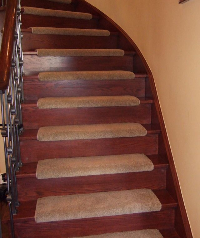 Good Stair Carpet In One By One Design For Wood Staircase