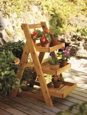 Tiered Plant Stand Ideas