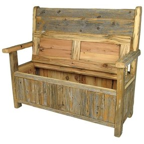 Toy Box Bench With Cushion