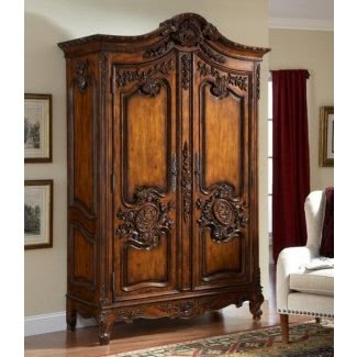 Charmant Tv Armoire With Doors And Drawers 1