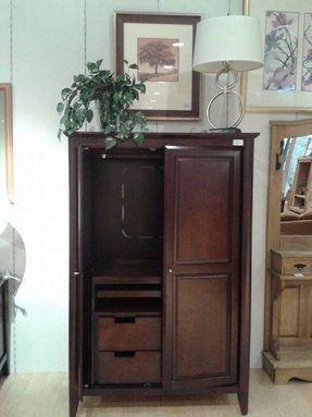 Tv Armoire With Doors And Drawers