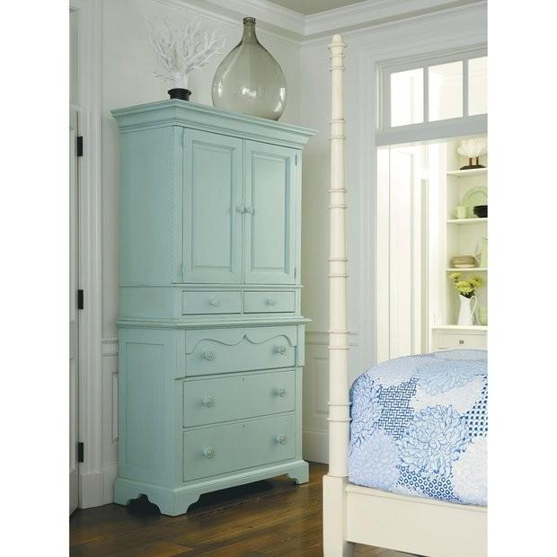 White Armoire With Drawers White E21