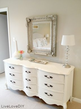 White Mirrored Buffet Foter