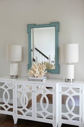 white mirrored sideboard white mirrored buffet foter 1054