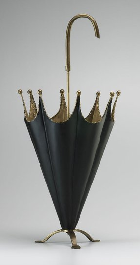 Wrought iron umbrella stands
