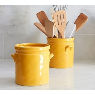 Ceramic Utensil Holder Crock - Ideas on Foter