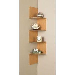zig zag corner wall shelf ideas on foter rh foter com Living Room Shelves zig zag corner wall shelves