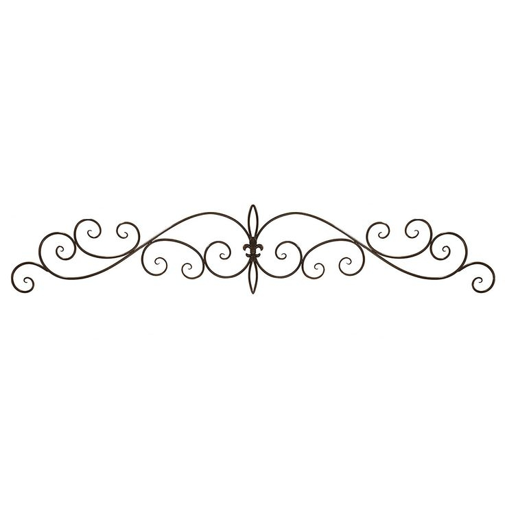 Metal Scroll Wall Decor - Foter