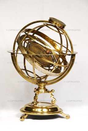 Antique desk globe 3