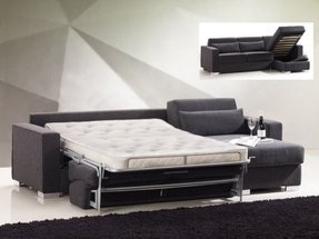 Sleeper Sofa With Chaise And Storage - Ideas on Foter