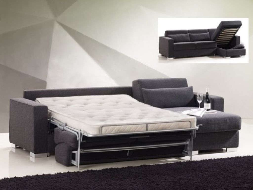 Exceptionnel Sleeper Sofa With Chaise And Storage   Ideas On Foter