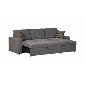 Sleeper Sofa With Chaise And Storage