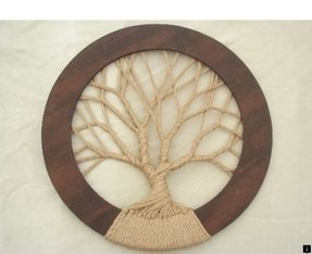 Circle wall decor