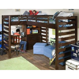Corner Loft Bunk Beds Ideas On Foter