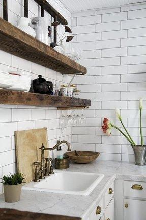 Corner Floating Shelves - Ideas on Foter