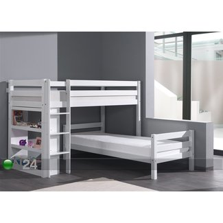 Corner unit twin beds
