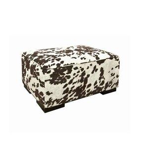 Stupendous Cow Print Ottoman Ideas On Foter Dailytribune Chair Design For Home Dailytribuneorg