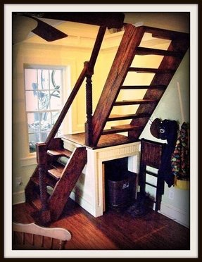 Custom stairs for small spaces 1