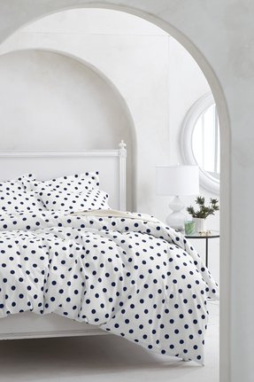 Cute black and white bedspreads